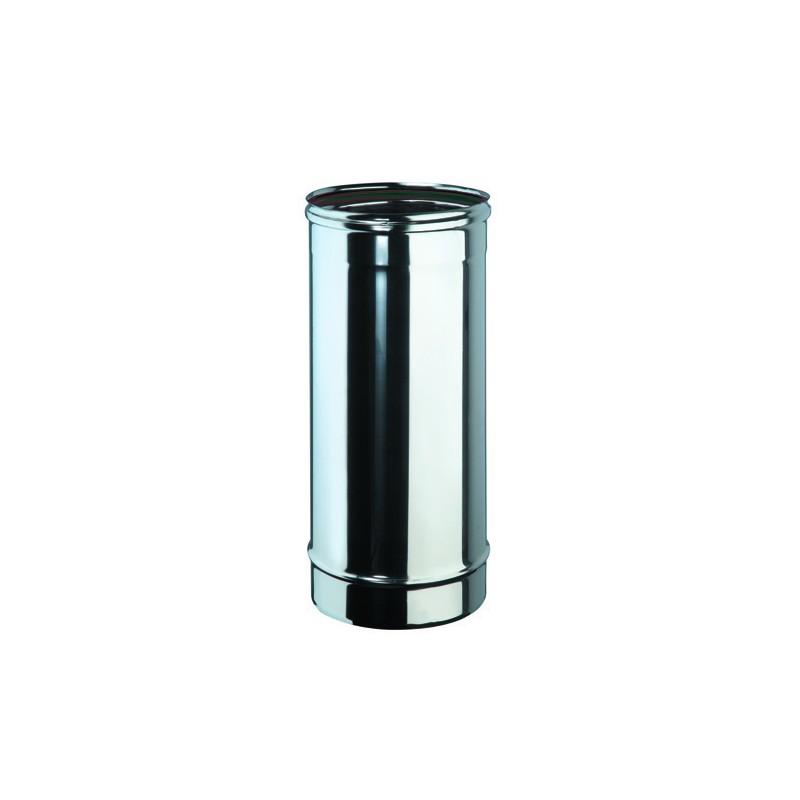 tube 50 cm inox simple paroi diam tre 150 directflam. Black Bedroom Furniture Sets. Home Design Ideas
