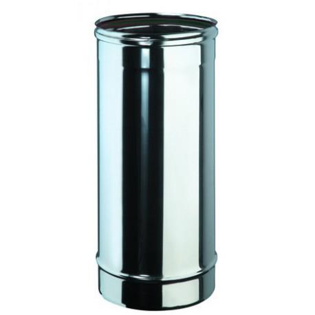 tube 50 cm inox simple paroi diam tre 230 directflam. Black Bedroom Furniture Sets. Home Design Ideas