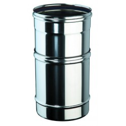 Tube ajustable 250-350 inox simple paroi