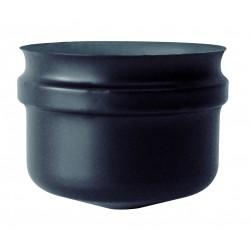 Tampon de purge long inox noir