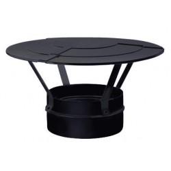 Chapeau chinois inox noir