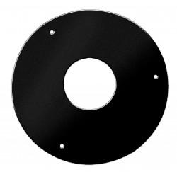 Plaque de propreté diamétre 300 Noire