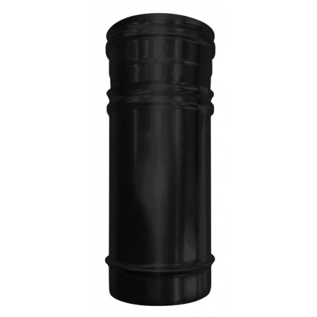 TUBE AJUSTABLE NOIR 280/400 ETANCHE CONCENTRIQUE INOX 80/125