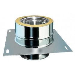 Plaque intermédiaire sans support diamètre 80 DP mono/double
