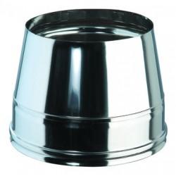 cone de finition pour tube isolé 80/130