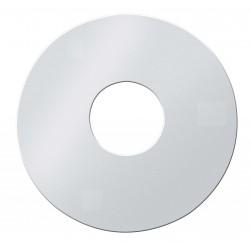 Plaque de finition blanche pour caisson concentrique 100/150