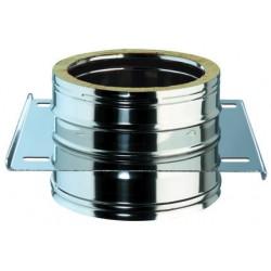 Plaque intermédiaire sans support diamètre 80 DD double/doubleD80/130