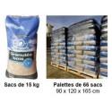 3 palettes de granule de bois EO2 uniquement a moins de 100kms de lille