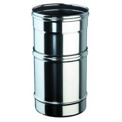 Tube ajustable 250-350 inox simple paroi