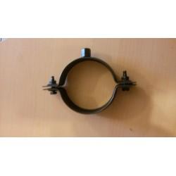 Collier de fixation  noir Ø80  sans pattes a vis
